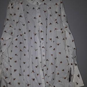 Nwt victoria beckham blouse